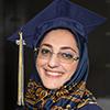 Schoolcraft College student at graduation