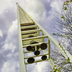 A photo of the Bell Tower on the campus of Schoolcraft College