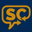 An icon representing the Schoolcraft Connection via a graphic of a talk bubble with the SC abbreviation within it