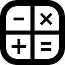 Image of math symbols.