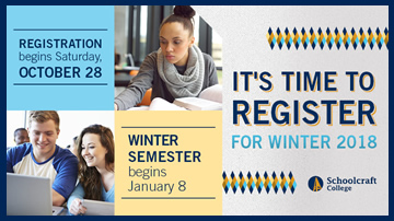 Winter Registration begins October 28