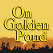 A distant nature photo with a text overlay reading On Golden Pond