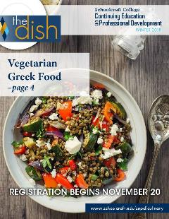cover of dish: bowl of greek food