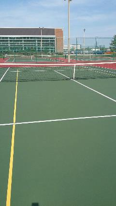 Tennis Court - After Renovation