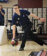 Men's Bowling - action