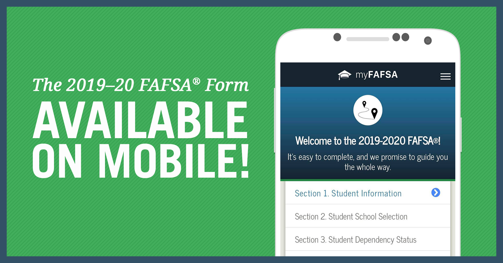 FAFSA has a mobile app