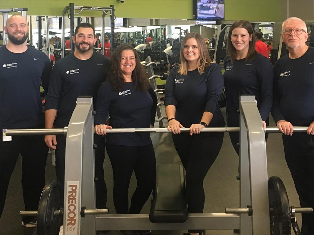 Fitness Center Professional Staff