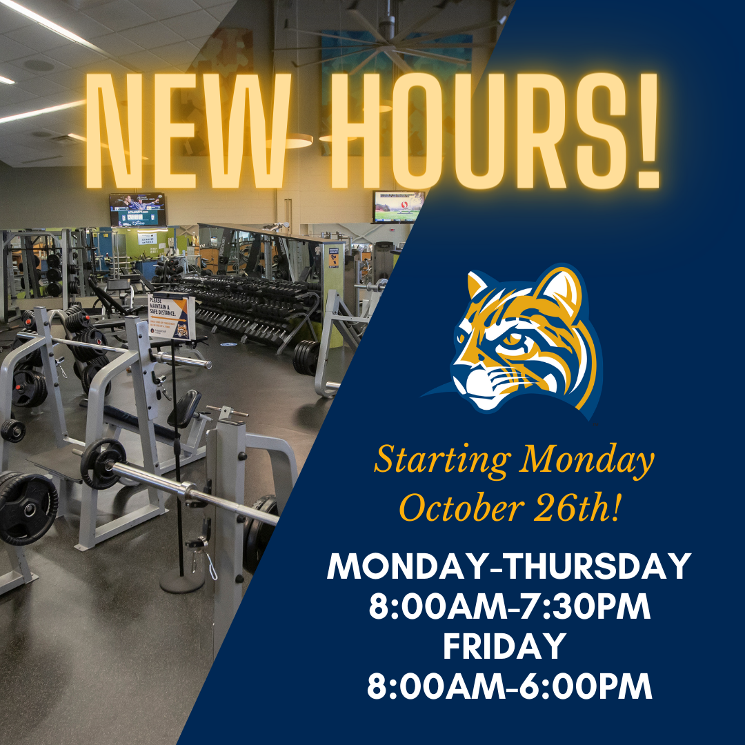 New Hours starting Monday October 26th!