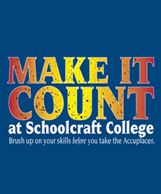 Make It Count - Learning Center - Schoolcraft College