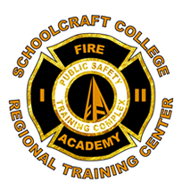 Formal emblem of the Schoolcraft College Fire Academy Regional Training Center