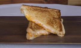 JC Cafe Food: A grilled cheese sandwich