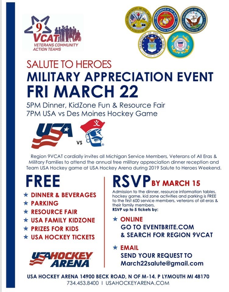 Military Appreciation Event
