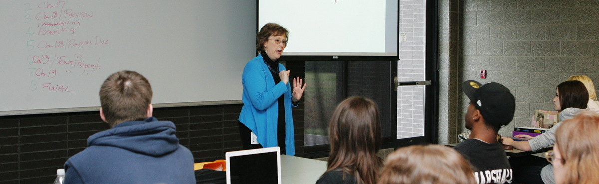 Photo of a classroom session